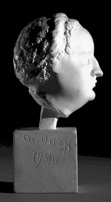 Ханна Орлова. Автопортрет. 1940 г.