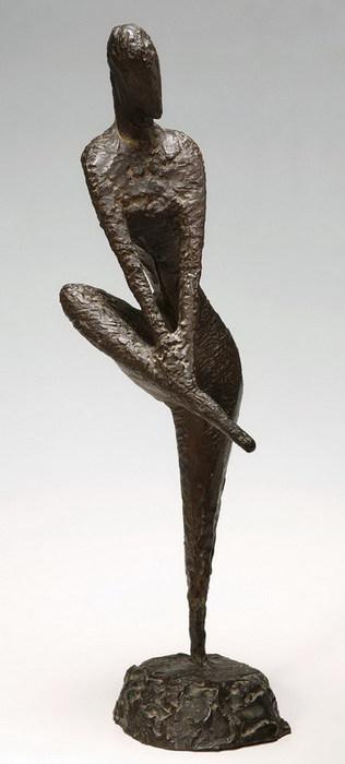 Ханна Орлова. Акробат. 1965 г.